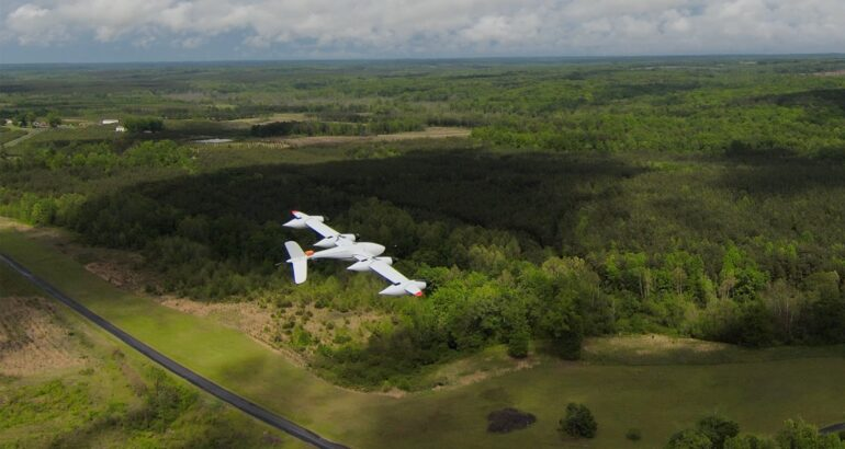 PteroDynamics Secures Contract With U.S. Navy To Deliver Cargo VTOL UAV