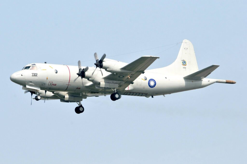ROC Air Force Taiwan P-3C MPA