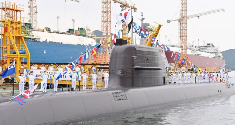 ROK Navy Commissions Her First KSS III Submarine