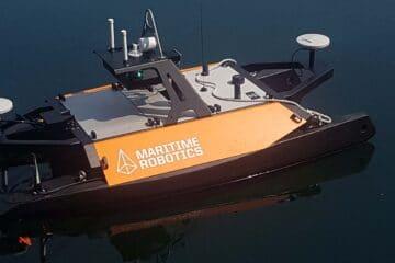 Royal Navy Tests Otter Pro Robot Survey Boat