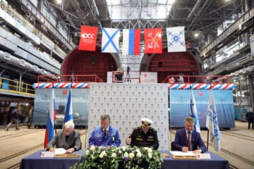 Russia Lays Keel of Four Submarines and Two Corvettes at Once