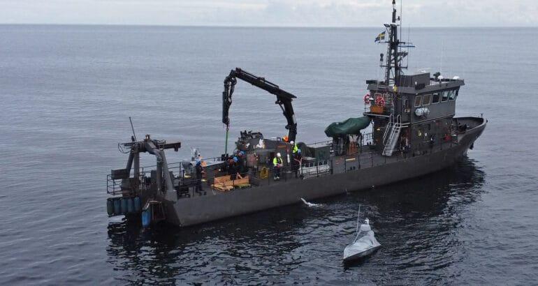 Saab Leads the OCEAN2020 Baltic Sea Live Demonstration
