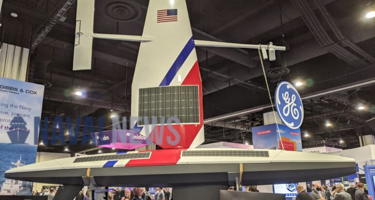 Saildrone Showcased Its USVs At Sea Air Space 2021 For The First Time