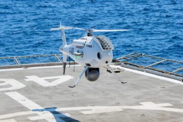 Schiebel Camcopter S-100 Completes Successful Tials For  The Hellenic Navy