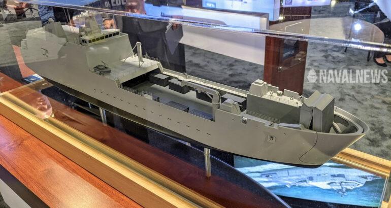 Sea Air Space 2021 Austal USA Unveils its LAW Design