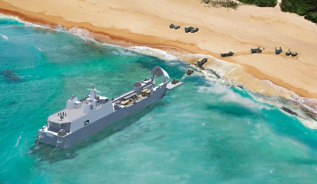 Sea Air Space 2021 Austal USA Unveils its LAW Design 2