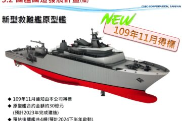 Taiwan's CSBC starts Construction of New Rescue and Salvage Ship