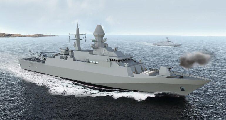 "Turkmenistan Comissions Its First Turkmen-Class Corvette ""Deniz Han"""