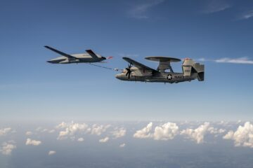 U.S. Navy, Boeing Score Another MQ-25 First with E-2D Refueling