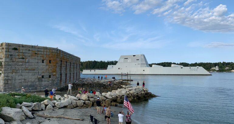 U.S. Navy's Third and Final Zumwalt-class Destroyer Starts Sea Trials