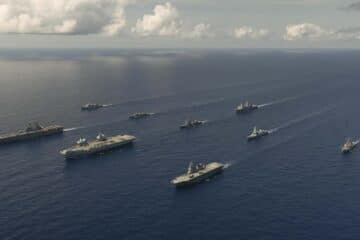 UK, United States and Japan Complete Joint Exercise In The Pacific