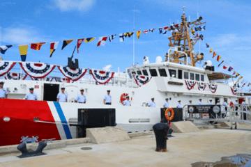 U.S. Coast Guard Commissions 44th Sentinel-Class Fast Response Cutter