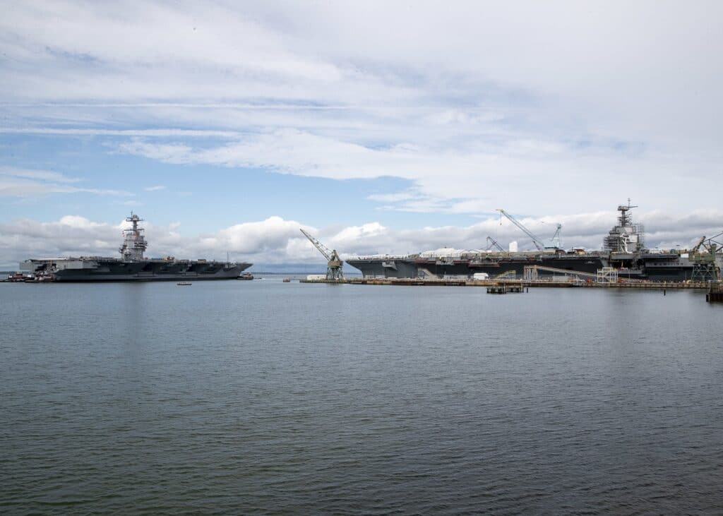 USS Gerald R. Ford (CVN 78) Commences Planned Incremental Availability