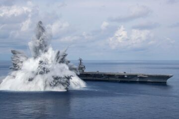 EMALS and AAG Successfully Performed during CVN 78 Shock Trials