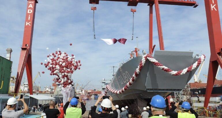 Anadolu Shipyard launches the 1st LCT for Qatari Navy