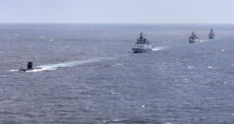 Australia and India Begin Maritime Exercise AUSINDEX 21