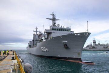 Australian DoD accepts 2nd Supply-class Auxiliary Oiler Replenishment ship