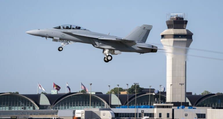 F/A-18 Block III Delivery