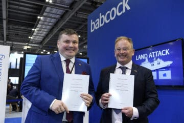DSEI 2021: Babcock signs cooperation agreement with Ukroboronprom