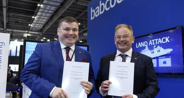 DSEI 2021 Babcock signs cooperation agreement with Ukroboronprom