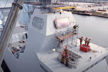 DSEI 2021: IAI Integrates Barak MX Interceptors on Sa'ar 6 Corvettes