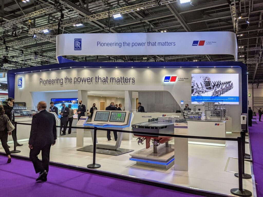 Rolls-Royce is showcasing its complete mtu NautIQ marine automation portfolio for the first time at the DSEI defence and security exhibition in London.