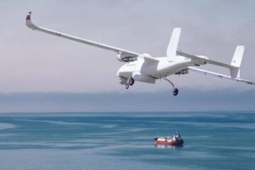 DSEI 2021 : Tekever's UAS used to survey the British Channel