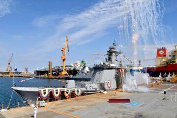 DSME Launches Sixth Daegu-class FFX Batch II Frigate For ROK Navy