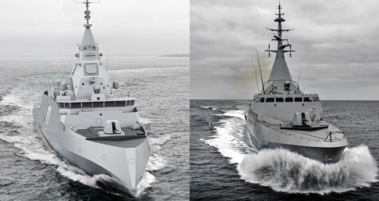 FDI Frigates and Gowind Corvettes for Greece