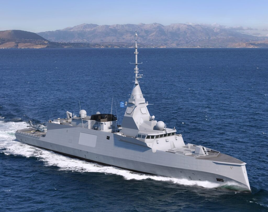 ew development in Greece : French frigates for the future Hellenic Navy ?