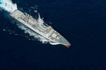 First Avante 2200 Corvette For Royal Saudi Navy Starts Sea Trials