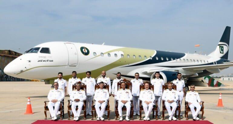 First 'Sea Sultan' Maritime Patrol Aircraft Joins Pakistan Navy