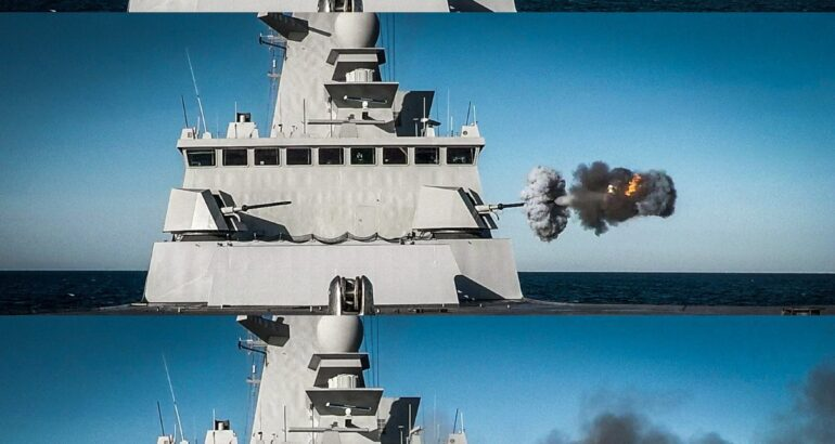 Forbin Horizon class French Navy 76mm