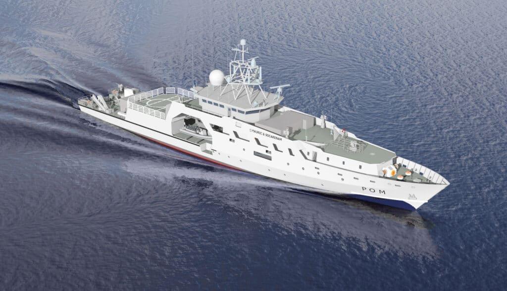French Navy POM OPV Socarenam