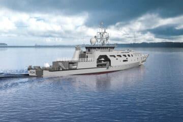 French Navy's new POM OPVs Take Shape at Socarenam Shipyard