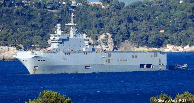 French Navy Started Testing its Future Landing Craft The EDA-S