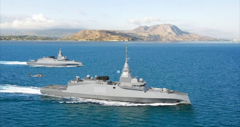Greece Signs MOU with Naval Group and MBDA for FDI Frigate
