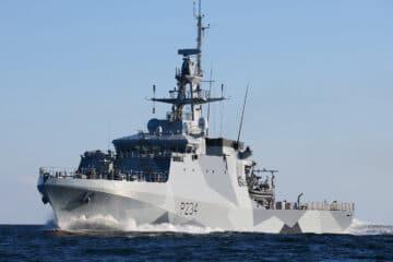 DSEI 2021: Royal Navy OPVs sail to re-establish permanent Indo-Pacific presence