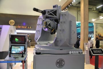 IDEF 2021: MKE unveils new 76 mm naval gun and 20 mm CIWS