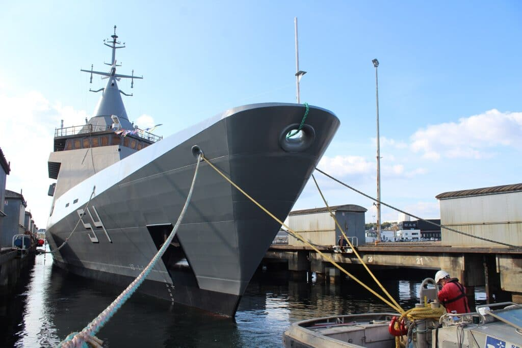 Naval Group Launches Fourth and Final OPV for Argentine Navyk