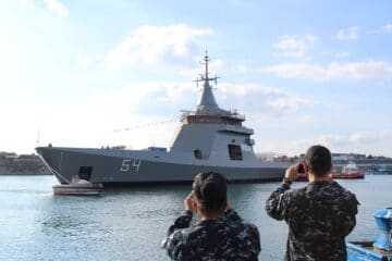 Naval Group Launches Fourth and Final OPV for Argentine Navy