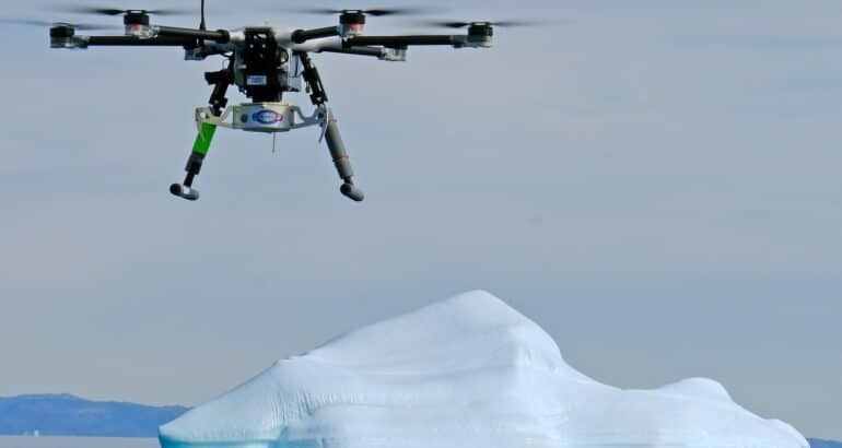 ONR Leads Iceberg Tagging in Greenland