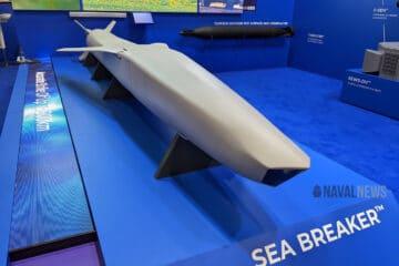DSEI 2021: Rafael showcases Sea Breaker missile