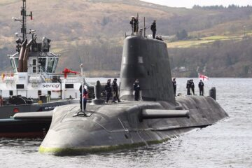 Royal Navy Commissions Fourth Astute-class Submarine