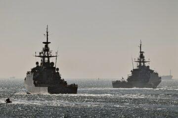 Royal Navy's River-class OPVs begin 5-year Indo-Pacific deployment