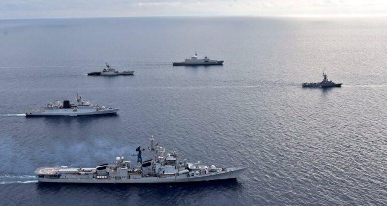 Singapore-India Maritime Exercise SIMBEX 2021 Concluded