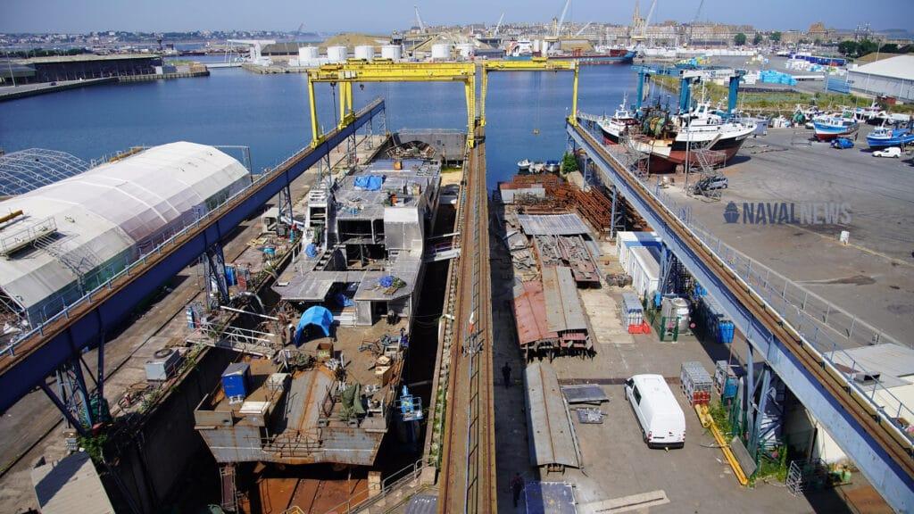 Socarenam St Malo shipyard