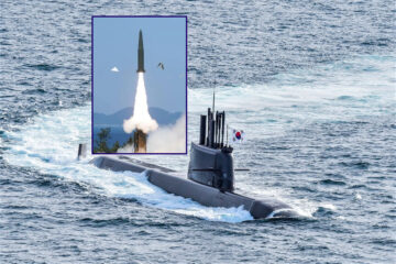 South Korea Test-Fires Ballistic Missile from new KSS III Submarine