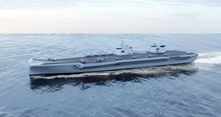South Korea's HHI and Babcock Ink Strategic Alliance for CVX Aircraft Carrier