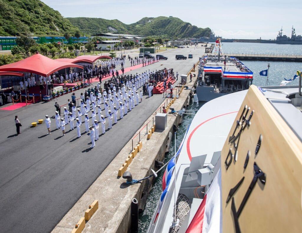 Taiwan Commissions First Upgraded Catamaran Corvette Ta Chiang 塔江 3